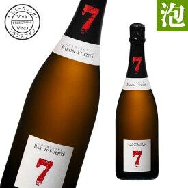 送料無料 北海道・沖縄・離島を除く ワイン シャンパーニュ バロン フエンテ セブン フランス産 辛口 泡 シャンパン