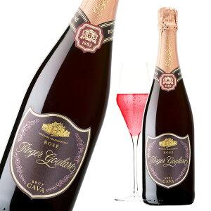 ワイン スパークリングワイン ロジャーグラート カバ ロゼ・ブリュット スペイン産 辛口 泡 ロゼ スパークリング