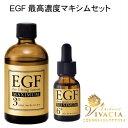 EGF 高濃度 ローション エキスセット EGF リフティングローション マキシマム ディープパワーエキス マキシマム エイジングケアゲル EGF美容液 シワ たるみ ハリ 毛穴 美容液 原液 EGFローション クルード化粧品