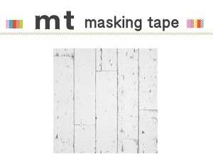 マスキングテープ リメイクシート 床用 白い木床 460mm角 3枚パック カモ井加工紙 mt CASA SHEET 【マスキングテープ/床用】