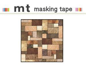 マスキングテープ リメイクシート 壁用 木の断面 460mm角 カモ井加工紙 mt CASA SHEET 【マスキングテープ】