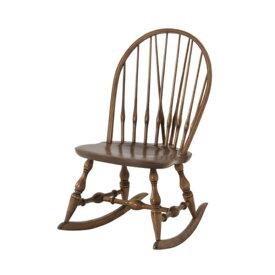 ロッキングチェア 幅47cm 奥行60cm 高さ82.5cm 座面高37cm 天然木 ミンディ材 ラッカー塗装 椅子 カントリー デザイン TTF-909 インテリア 家具 雑貨 送料無料 ヴィヴェンティエ
