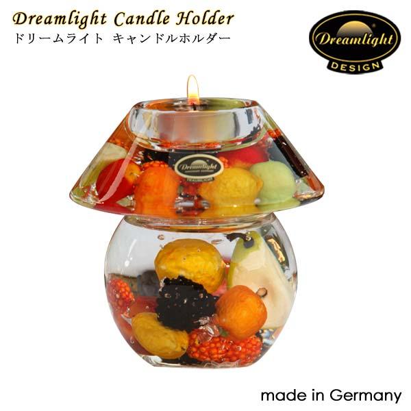 Dreamlightドリームライト キャンドルホルダー ハッピフルーツ CDD5382 ノーブレス 110×110mm キャンドルホルダー ガラス ドイツ製 Dream Light Hand Made GERMANY