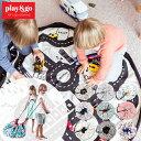 プレイマット play&go プレイ&ゴー 2way 巾着 おもちゃ 収納 バッグ 袋 簡単 お片付け 見せる収納 ラグ かわいい お…