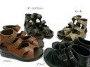 ◆In Cholje(インコルジェ) 足に優しい靴 サンダル 本革 ナチュラルブーツサンダル 日本製  靴 レディース 婦人靴●送料無料