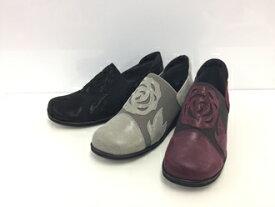 ◆【Miss Kyouko】ミスキョウコ 4E軽量フラワーコンフォート 12039(736) 日本製  靴 レディース 婦人靴●送料無料