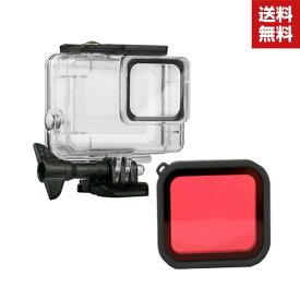 送料無料 GoPro hero7 Silver/hero7 white プラスチック製 耐衝撃 ゴープロ ヒーロー7 Silver/white ハードケース