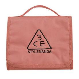 STYLENANDA 3CE スタイルナンダ スリーシーイー ウォッシュバッグスモール #PINK BEIGE 韓国コスメ