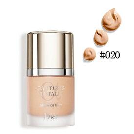Christian Dior クリスチャン ディオール カプチュール トータル トリプル コレクティング セラム ファンデーション #020 LIGHT BEIGE SPF 25 30ml