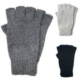 スコットランド発!JOHNSTONSジョンストンズカシミア100%フィンガーレスグローブ ニット手袋 グレー ブラック インポート シンプル 定番 ベーシック おしゃれ 上品 きれいめ ナチュラル 6552580