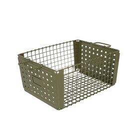 D.M.S GYM 21L OLIVE DRAB/レトロスチール製収納ボックス/収納ボックス/ボックス/小物入れ/小物収納/収納box/収納ケース/収納箱/BOX/衣類収納/整理ボックス/スチール/整理/収納//DULTON/ダルトン/113-299IV