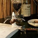 定形外郵便で1個で390円送付 プレゼント ひげ グラスホルダー めがね置き メガネスタンド GLASSES HOLDER ルーペ アニ…