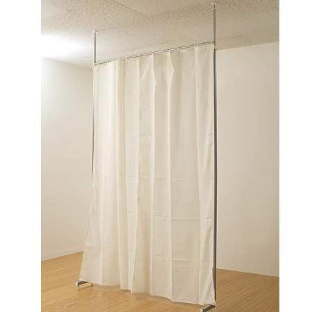 間仕切り [送料無料+ポイント6倍] 間仕切り カーテン つっぱり 部屋 しきり 間仕切り カーテン つっぱり 衝立 つっぱり カーテン 突っ張り オフィス 目隠し 間仕切り NAS