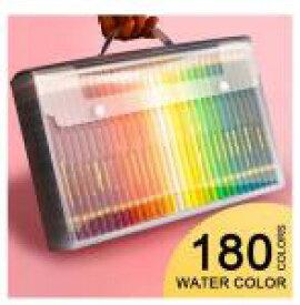 色鉛筆 大人用 180色 色えんぴつ いろえんぴつ 色鉛筆セット プロフェッショナル [送料無料 輸入品] デザイン デッサン 絵画 塗り絵 ぬりえ おとな 趣味 大人の塗り絵
