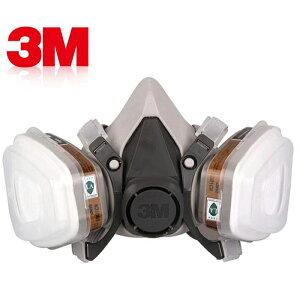 フィルター付きマスク 防塵マスク 3M 防じんマスク 塗装 マスク N95対応マスク mask [送料無料 平行輸入品] 6200+6001CN+501+5N11×10枚セット