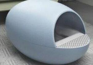 猫 トイレ 自動 ペット おしゃれ 全自動猫トイレ ブルー水色 ドームタイプ [送料無料 輸入品] 猫用トイレ ネコ用トイレ ペット用品 ねこトイレ オート ネコトイレ キャットトイレ オシャレ