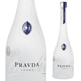 プラヴダ<プレミアムウォッカ> 700ml 40度 ポーランド ウォッカ VODKA スピリッツ 長S