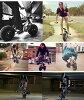 搖杆小輪車 Rocker3 厄運的小輪車賽車 BMX 自行車小輪車自行車 10 寸小輪車 10 寸小輪車搖臂搖臂 BMX 小輪車迷你小輪車街