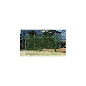 野球 打撃練習 カネヤ KANEYA 野球バックネット バッティング練習 野球練習用品 ソフトボール 3m×7mネットのみ KB-1363 防球ネット 【代引不可】