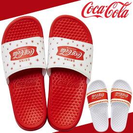 コカ・コーラ コカコーラ サンダル シャワー サンダル Coca-Cola ロゴ シャワーサンダル スポーツサンダル ホワイト ブラック メンズ 男性用 レディース 女性用 男女兼用 ユニセックス サンダル ビーチサンダル トングサンダル