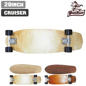 スケートボード WOODY PRESS ウッディプレス 28インチ クルーザーモデル サーフスケートボード コンプリート モデル Cruiser クルーザーコンプリート カービング スラッシュ サーフスケート