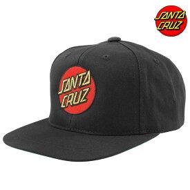スケボー SANTA CRUZ CLASSIC DOT SNAPBACK HATS KIDS サンタクルーズ メッシュキャップ キッズ 子供 男の子 女の子 フリー キャップ 帽子 スケートボード あす楽 送料無料