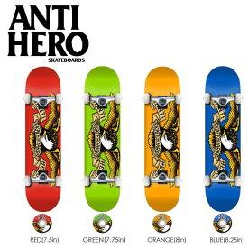 特別価格 アンタイヒーロー スケートボード コンプリート キッズ 子供用 レディース メンズ ANTI HERO デッキ TEAM EAGLE 完成組立品 スケボー アンチヒーロー ボード 7.5 7.75 8.0 8.25in