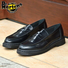 特別価格 ドクターマーチン ローファー ブラック Dr.Martens PENTON BLACK ペニーローファー 25015001