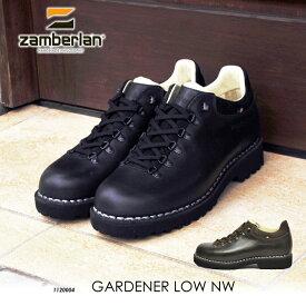SALE ザンバラン ガーデナー ローカット ブラック ブラウン made in Italy 国内正規品 Zamberlan GARDENER LOW NW 散歩 ウォーキング ハイキング