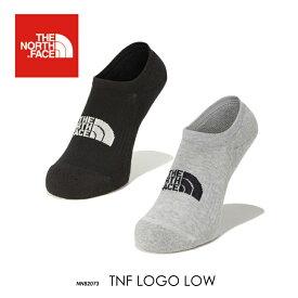 THE NORTH FACE ノースフェイス 靴下 ロゴ ソックス メンズ レディース TNF Logo Low NN82073 スニーカーソックス