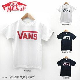 メール便 バンズ Tシャツ クラシック ロゴ レディース VANS CLASSIC LOGO S/S T-SHIRTS 半袖 ヴァンズ GT01A