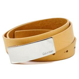 カルバンクライン Calvin Klein ベルト レディース レザー ベージュ 85サイズ