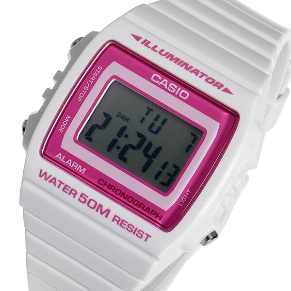 カシオ CASIO 腕時計 メンズ レディース ユニセックス デジタル 海外モデル ピンク×ホワイト スタンダード