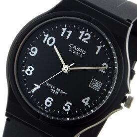 カシオ CASIO 腕時計 メンズ レディース ユニセックス ブラック スタンダード