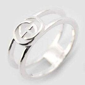 ef97db9d0370 グッチ GUCCI リング 指輪 レディース メンズ ユニセックス ロゴ シルバー 8号