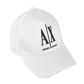 アルマーニエクスチェンジ ARMANI EXCHANGE ベースボールキャップ 野球帽子 スナップバックキャップ メンズ ロゴ刺繍 WT BASEBALL ICON HAT - MAN'S BASEBALL HAT