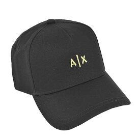 アルマーニエクスチェンジ ARMANI EXCHANGE ベースボールキャップ 野球帽子 スナップバックキャップ メンズ ロゴ刺繍 BK×GO BASEBALL HAT - MAN'S BASEBALL HAT