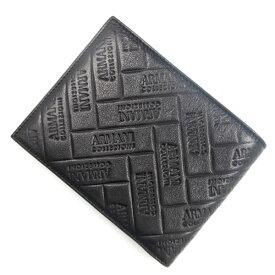 アルマーニコレツィオーニ ArmaniCollezioni 二つ折り財布 メンズ レザー