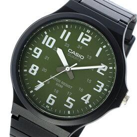 カシオ CASIO 腕時計 メンズ レディース ユニセックス 海外モデル グリーン×ホワイト