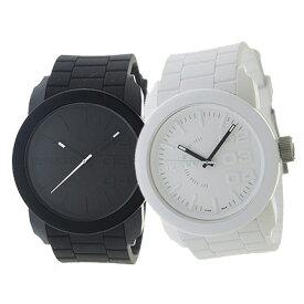 ディーゼル DIESEL ペアウォッチ 腕時計ペアセット メンズ レディース ユニセックス ブラック