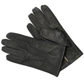 デンツ DENTS 手袋 グローブ メンズ シープレザー カシミア Sサイズ