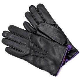 デンツ DENTS 手袋 グローブ メンズ シープレザー カシミア Lサイズ