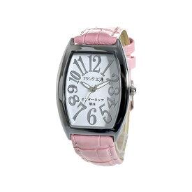フランク三浦 FRANK MIURA 腕時計 レディース メンズ ユニセックス ホワイト/ピンク インターネッツ別注