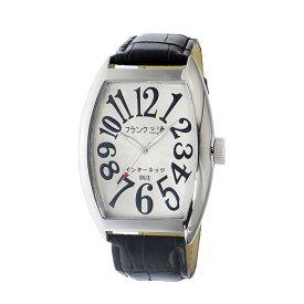 【ポイント10倍 〜6/26 1:59】フランク三浦 FRANK MIURA 腕時計 メンズ ホワイト インターネッツ別注