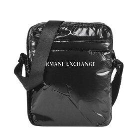 アルマーニエクスチェンジ ARMANI EXCHANGE ショルダーバッグ サコッシュ メンズ 斜めがけ ロゴ BK REPORTER BAG-MAN'S CROSSBODY BAG