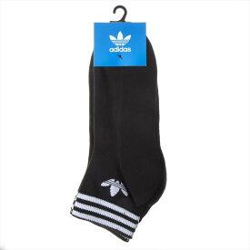 アディダス adidas ソックス3足セット 靴下3足セット アンクレット メンズ ロゴ 24.5cm-26.5cm