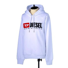 ディーゼル DIESEL パーカー メンズ 長袖 プルオーバー ロゴプリント柄 Mサイズ