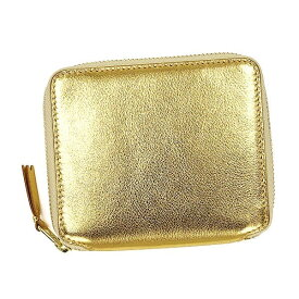 コムデギャルソン COMME des GARCONS 二つ折り財布 メンズ レディース ユニセックス GO GOLD