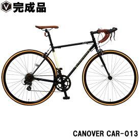 【特価セール】ロードバイク 自転車【完成品】700c(約27インチ) ロードレーサー シマノ14段変速 Tourneyデュアルコントロールレバー 超軽量 クロモリフレーム CANOVER カノーバー CAR-013 ORPHEUS オルフェウス