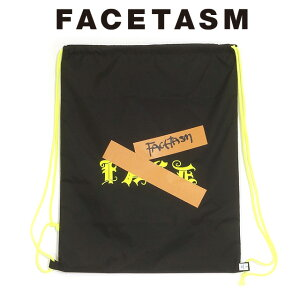 FACETASM ファセッタズム GUMTAPE LOGO NAP SAC ガムテープ ロゴ ナップサック 2020 新作 【15:00までのご注文で即日配送】 プレゼント ギフト